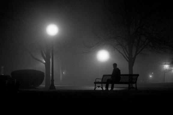 mist-night